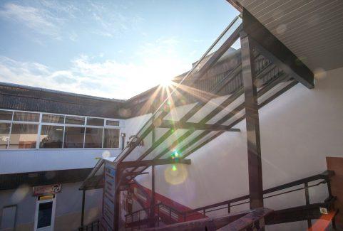 Reštaurácia Hviezda – prekrytie schodiska