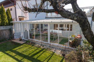 Hliníková zimná záhrada